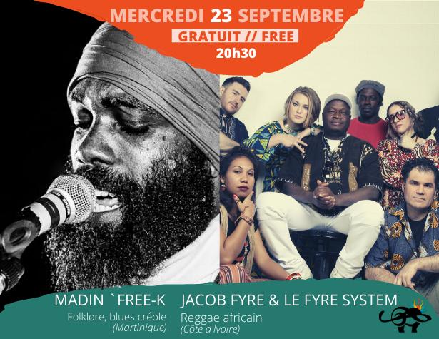 Madin'Free-K x Jacob Fyre & Le Fyre System • Syli d'Or 2020