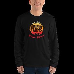 Inferno Farms Long Sleeve Logo Shirt