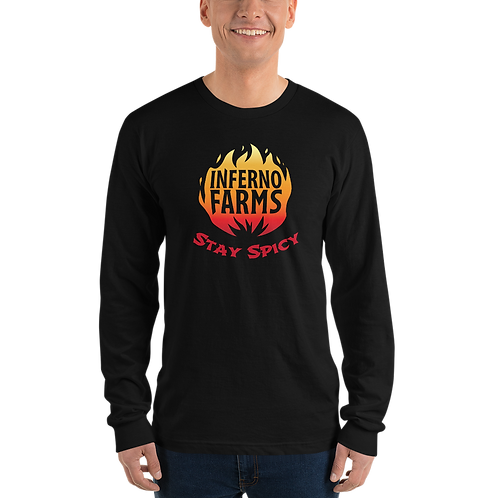 Inferno Farms Long Sleeve Logo Shirt