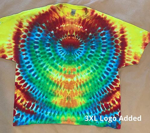 3XL Logo Tie Dye