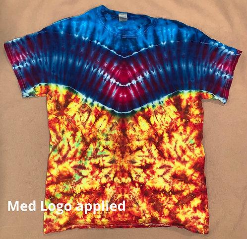 Medium logo tie dye