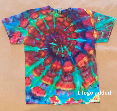 Large Logo Tie Dye