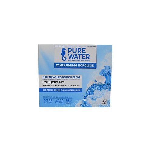 Pure Water Стиральный порошок для белого белья
