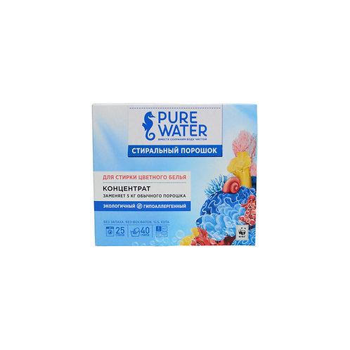 Pure Water Стиральный порошок для цветного белья