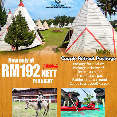 COUPLE RETREAT PACKAGE