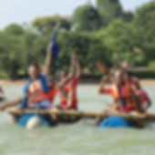 Sea Rafting & Raft Building