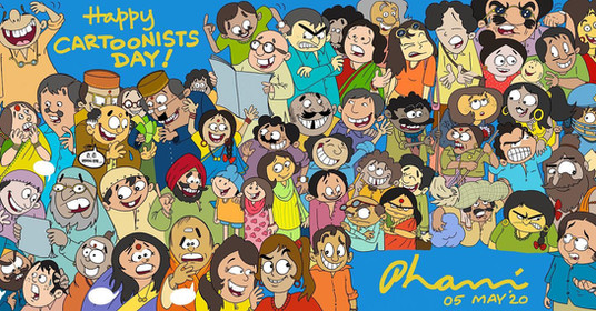 Cartoonists' Day!