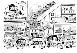 Traffic Jam in Bangalore