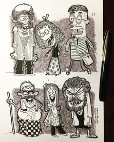 People Doodles