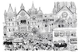 Mumbai CST, Wednesday 3 PM