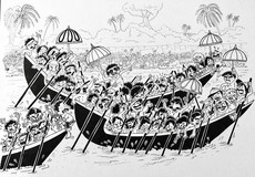 Boat Race in Kerala, India