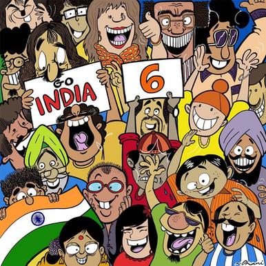 Cricket crazy India!