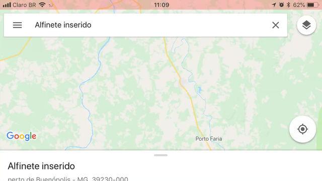 Medir distâncias no Google Maps