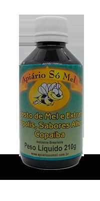 composto de mel e extrato de propolis sa