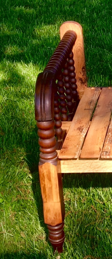 Jenny Lind Antique Bench