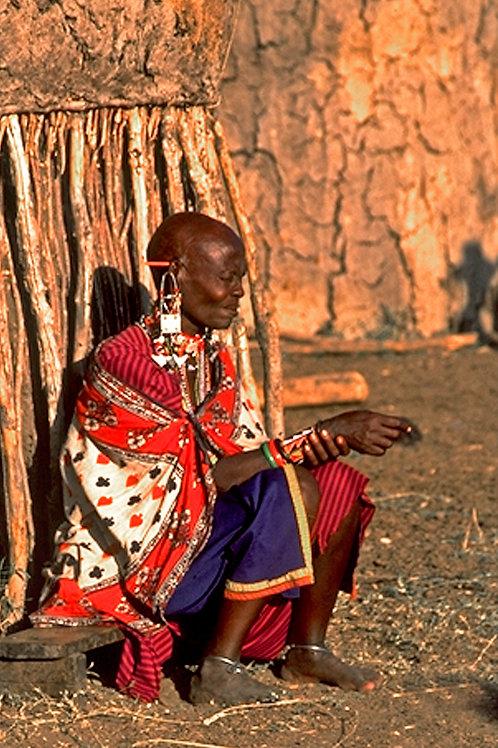 Masai Tribeswoman