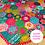 "Thumbnail: ""Pieceful Tree Skirt"" PDF Pattern"