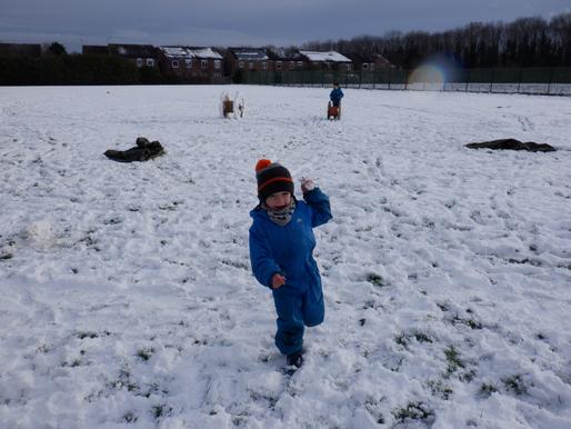 Snowy Forest School