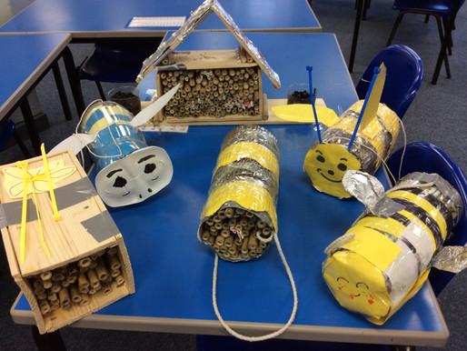Year 3 Pollinator Houses
