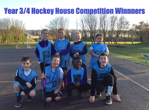 Year 3/4 Hockey House Competition
