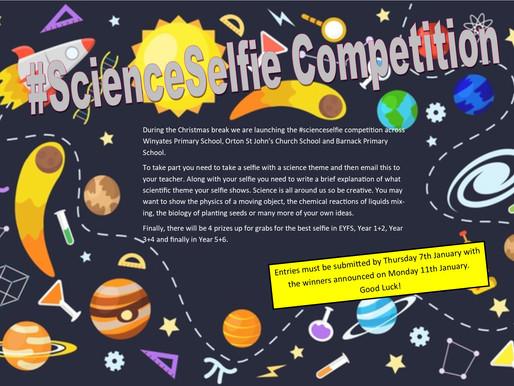 #ScienceSelfie Competition