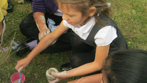 Year 3 immerse themselves in the Stone Age