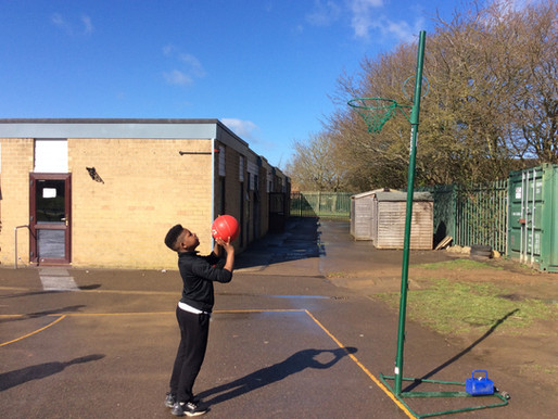 Inter-School Netball Shooting Competition