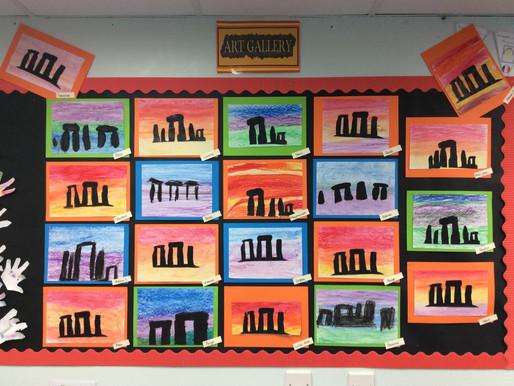 Stonehenge Silhouettes!