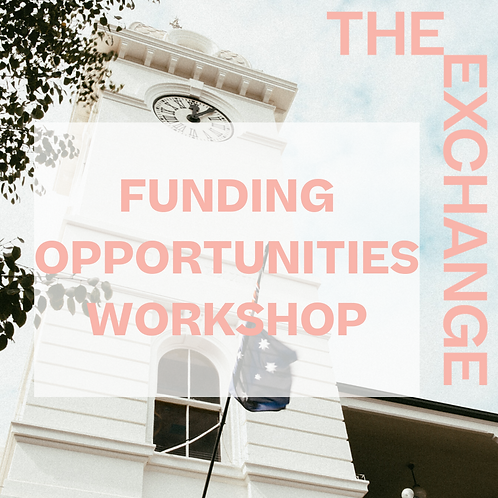 Funding Opportunities Workshop
