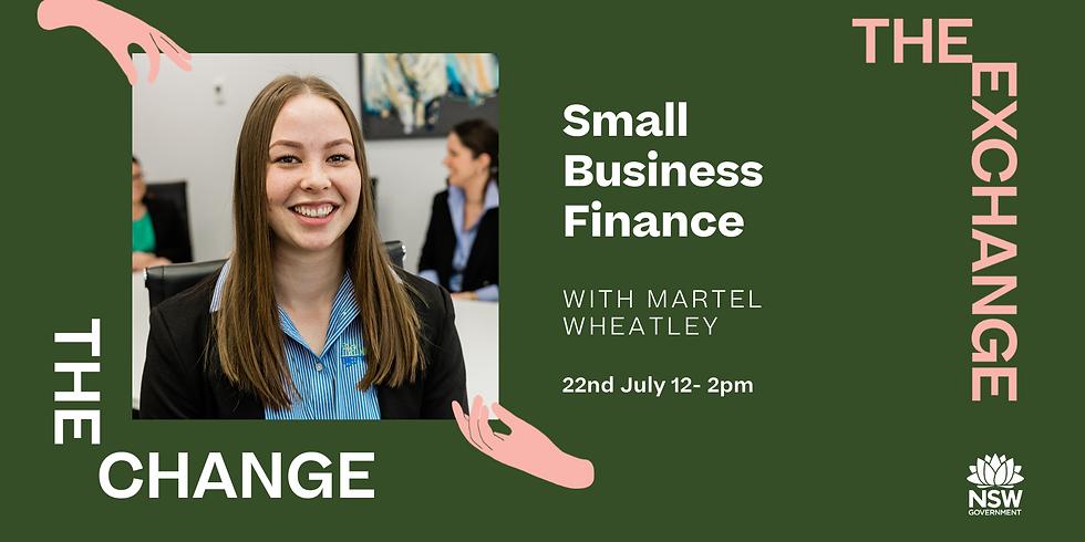 The CHANGE- Money Magic: Small Business Finance Masterclass