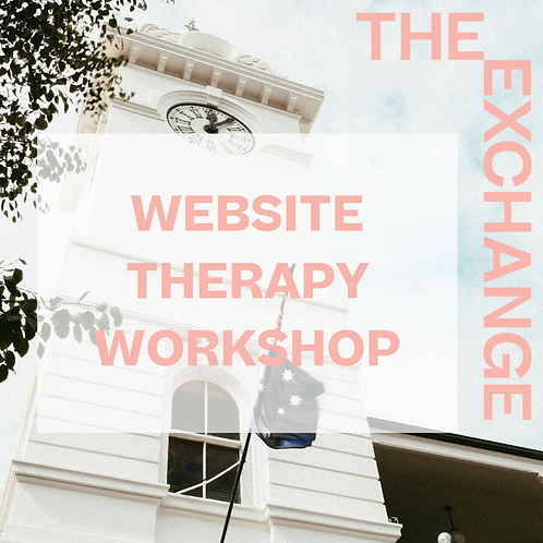 Website Therapy Workshop