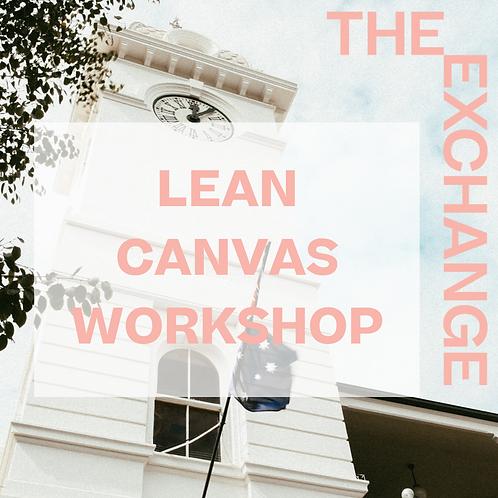 Lean Canvas Workshop