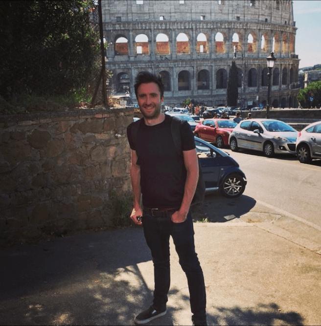 Byron in rome