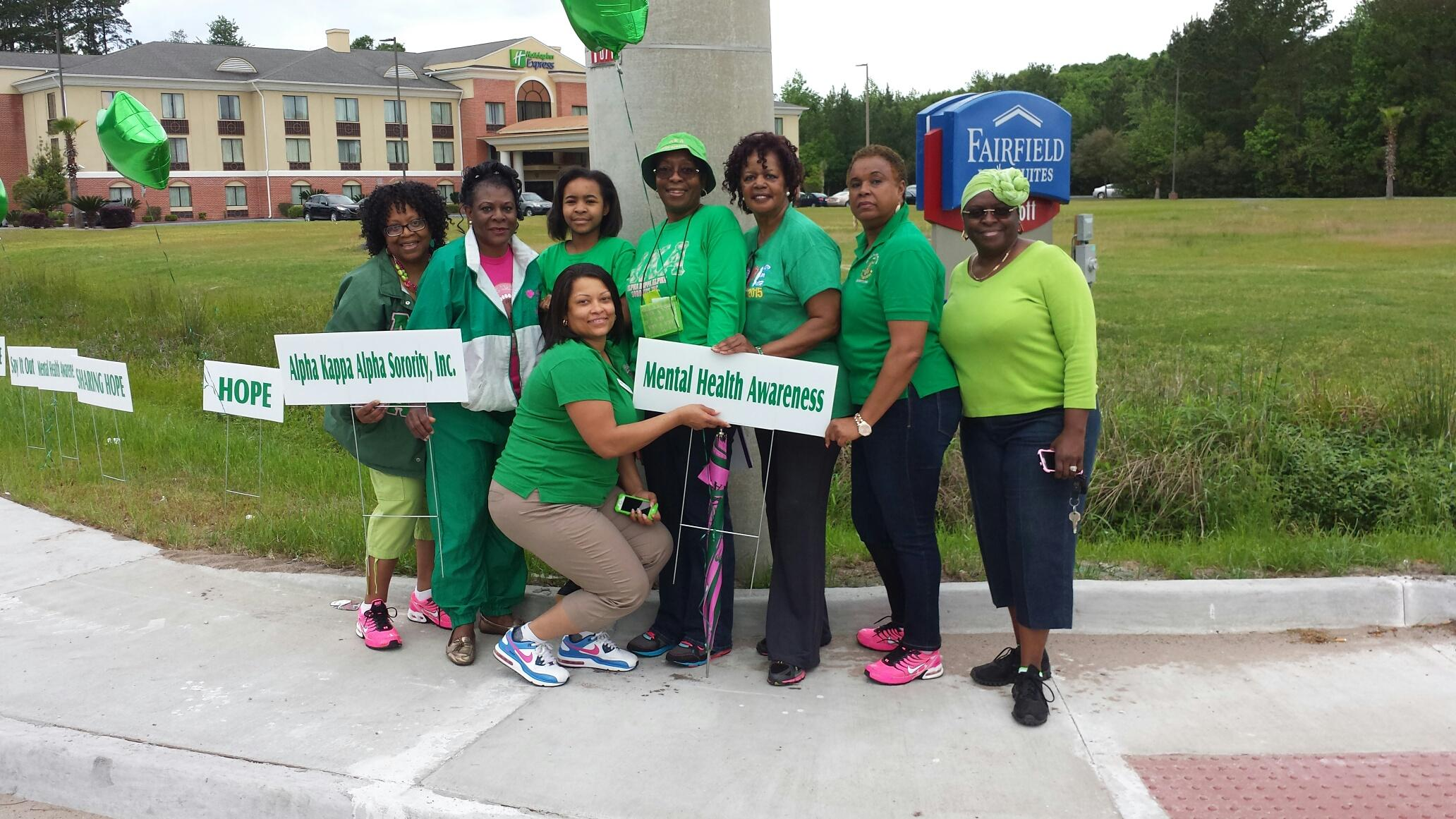 Mental Health Walk 2015