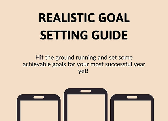 Realistic Goal Setting For A Successful 2021