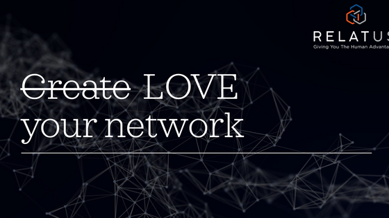 Love and networks - do the same relationship principles apply?