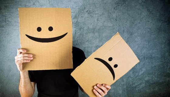 What is a real relationship? How to put on a happy face
