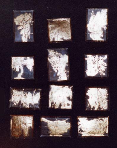 meditation series mixed media 8x12 instalation