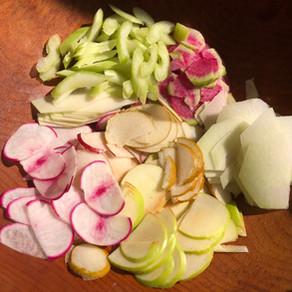 Fall Shaved Salad