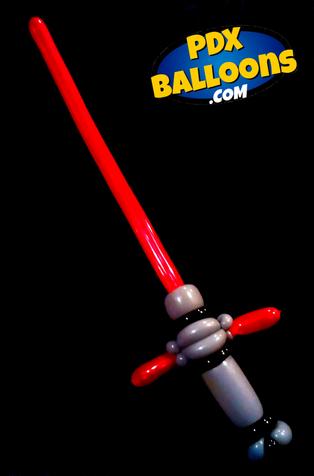 Cross-Guard Lightsaber