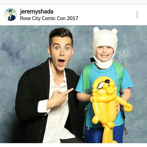Jeremy Shada - The voice of Finn (Adventure Time)