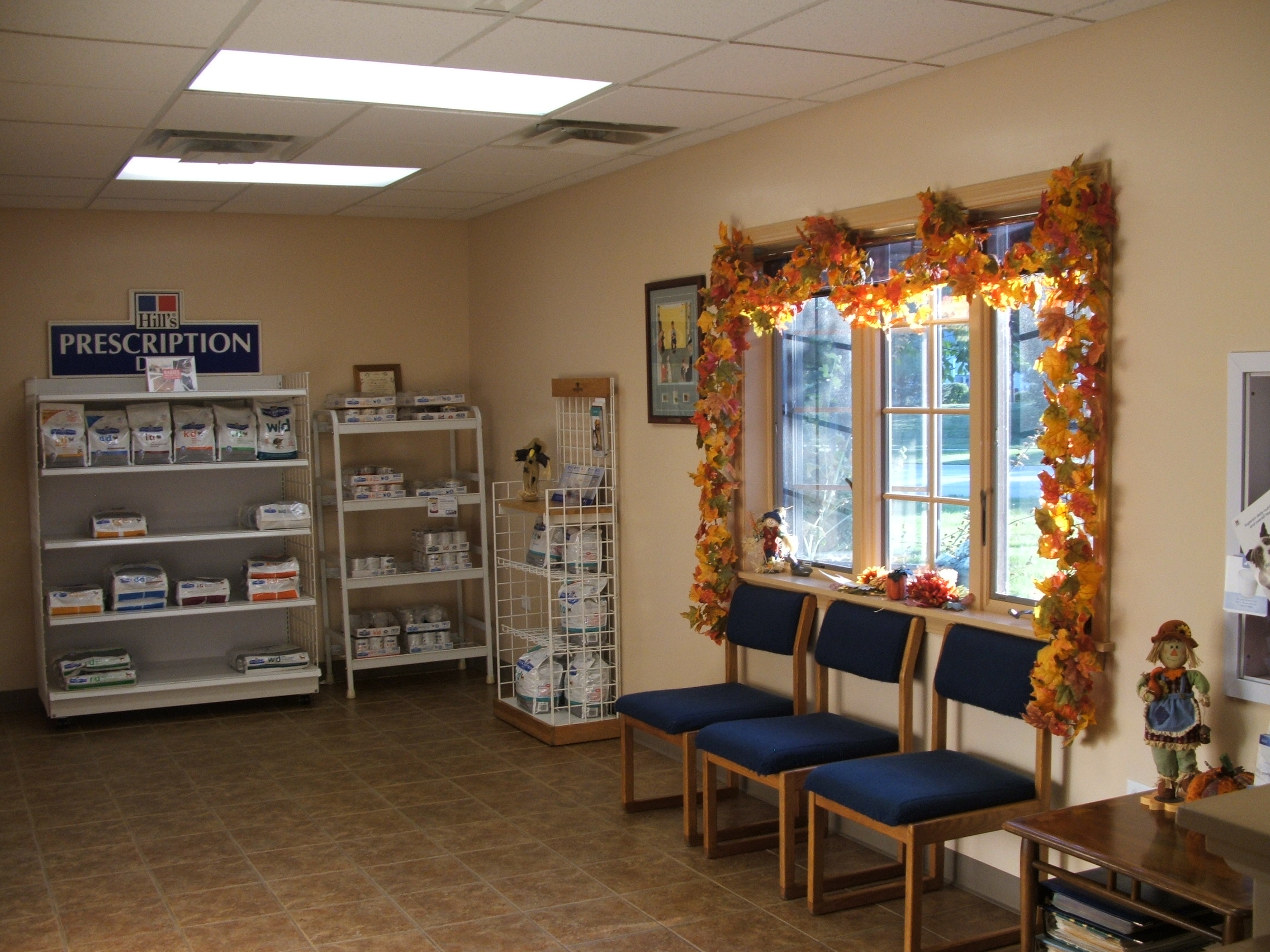 Fox Ridge Vet Clinic lobby