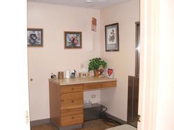 Fox Ridge Vet Clinic dog exam room