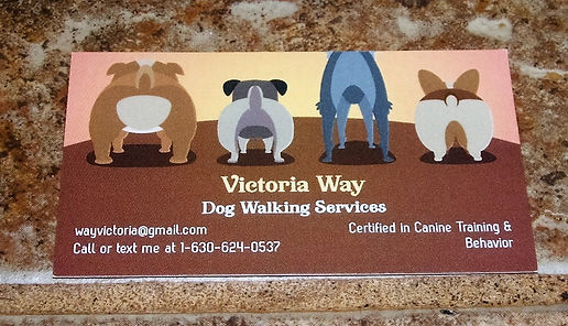 Victoria Way business card
