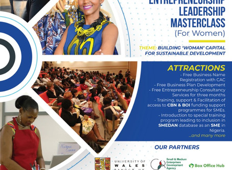 WLI HOSTS  ENTREPRENEURSHIP LEADERSHIP MASTERCLASS FOR WOMEN