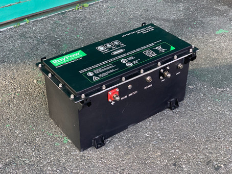 LFPリチウムバッテリー サンプル到着