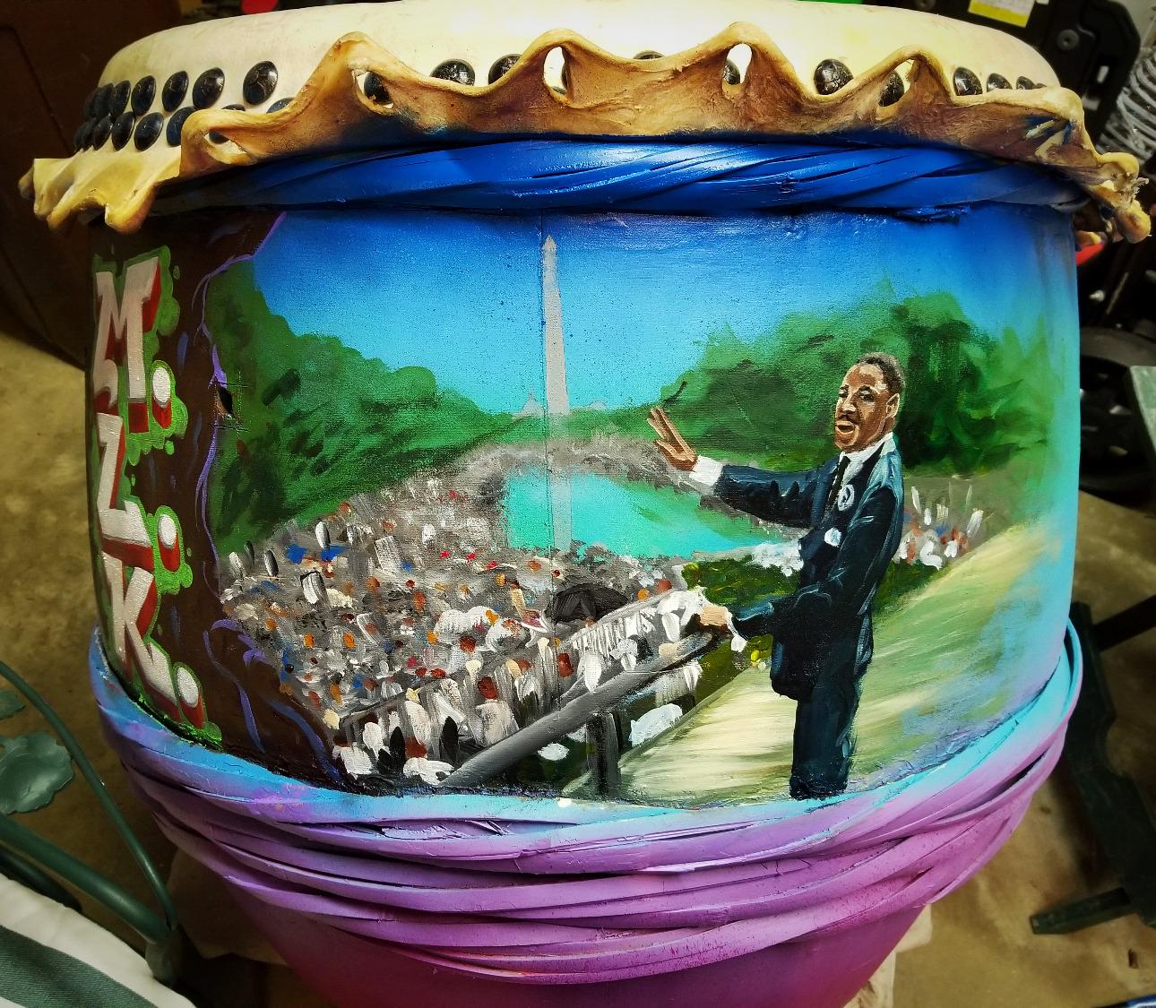MLK Drum