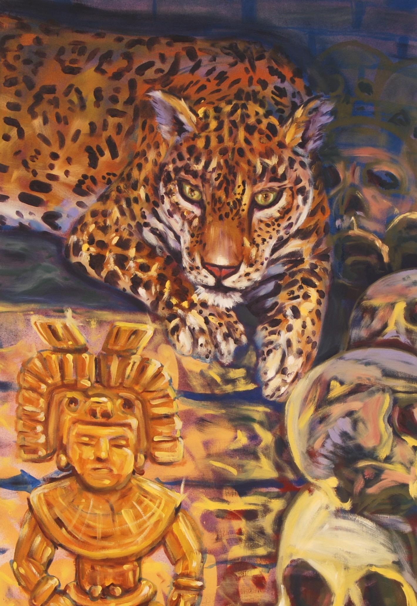 The Old Jaguar Gazed Greedily