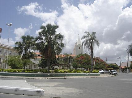 Ouricuri -Praça_da_Igreja_Matriz_de_São_