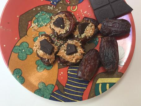 Dr. T's Dark Chocolate Stuffed Dates
